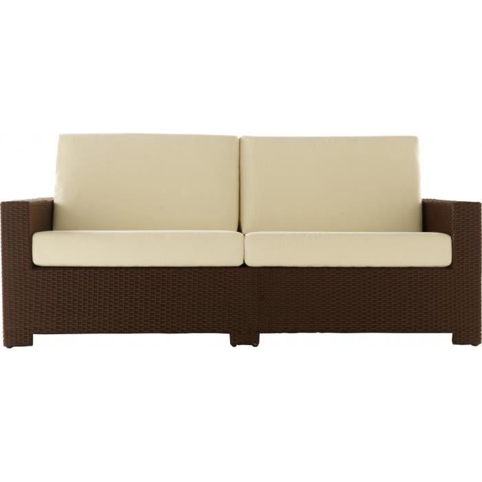 canap 2 places aluminium r sine tress e moderno achat. Black Bedroom Furniture Sets. Home Design Ideas