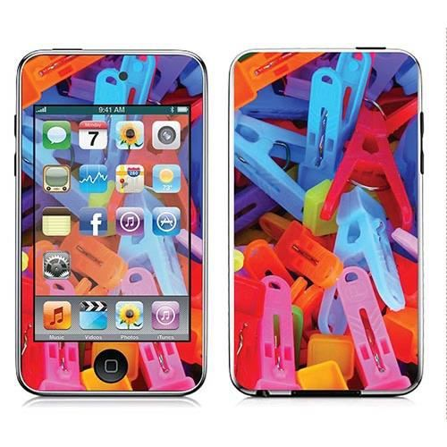 Skin stickers pour apple ipod touch 2g 3g sticker for Stickers fil a linge