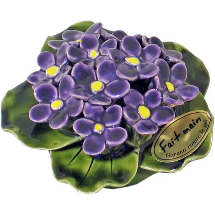 fleur c ramique achat vente plaque fun raire fleur c ramique prix fou cdiscount. Black Bedroom Furniture Sets. Home Design Ideas