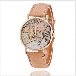 Montre carte du monde - Achat / Vente pas cher