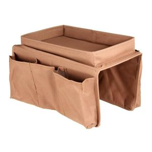 BOITE DE RANGEMENT Sofa Accoudoir sac de rangement pliable