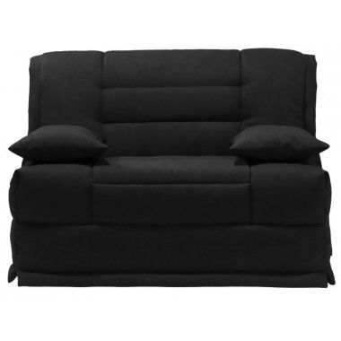 Banquette lit macapa 120x200 anthracite gruhier achat vente banquette - Banquette lit mousse ...
