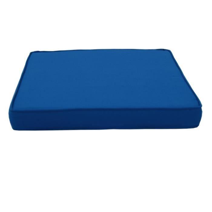 Coussin bleu pour java et tonga achat vente coussin de for Coussin pouf exterieur