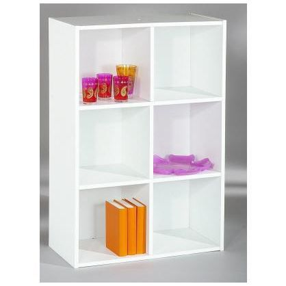 Etag re 6 casiers module achat vente meuble tag re - Etageres casiers rangement ...