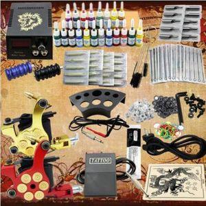 KIT TATOUAGE Tatouage kit 2 machines 20 encre