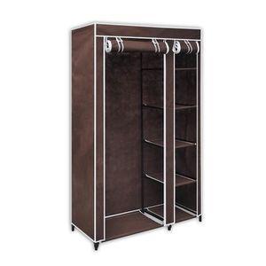 armoire de rangement chambre en tissus en couleur achat. Black Bedroom Furniture Sets. Home Design Ideas