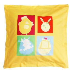 taie d oreiller enfant achat vente taie d oreiller enfant pas cher cdiscount. Black Bedroom Furniture Sets. Home Design Ideas