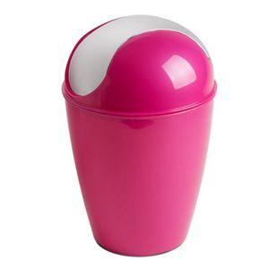 Poubelle rose achat vente poubelle rose pas cher - Poubelle a roulette pas cher ...
