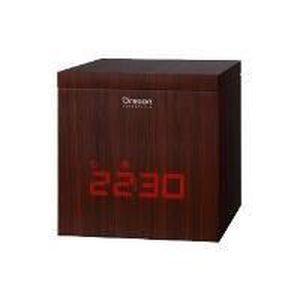 Radio réveil Cube Bois