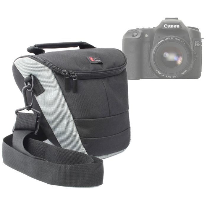 Etui m pratique pour canon eos 100d 700d 350d achat for Housse canon 700d