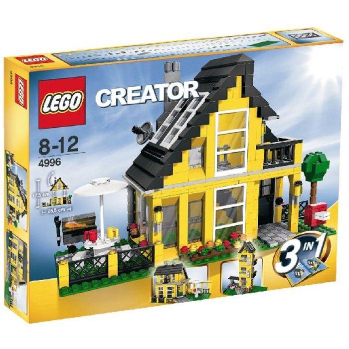 lego la maison de vacances achat vente assemblage construction cdiscount. Black Bedroom Furniture Sets. Home Design Ideas