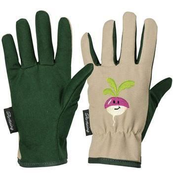 gants de jardinage enfants 4 6 ans motif radis achat