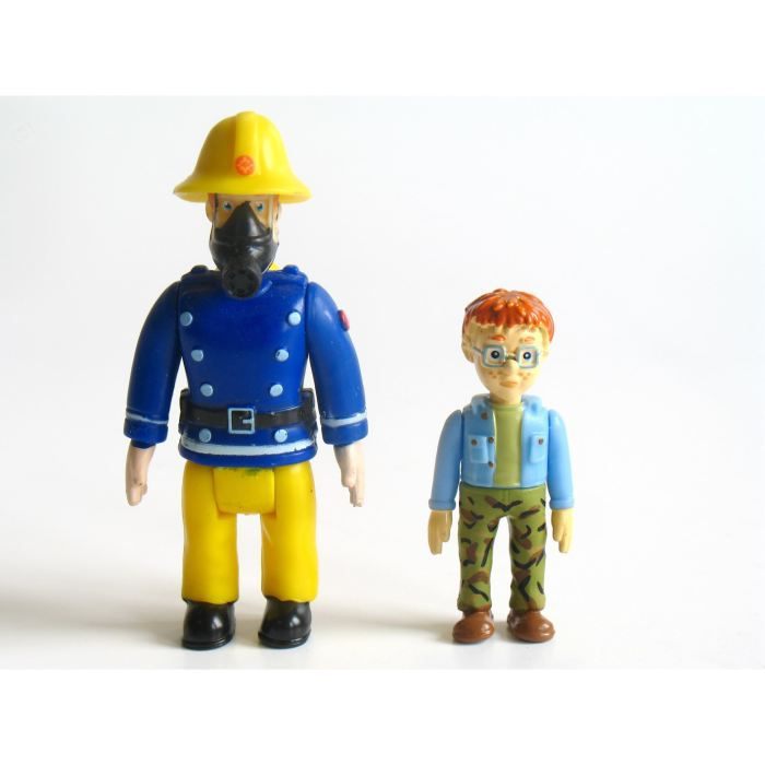 Sam fig sam le pompier norman achat vente figurine - Sam le pompier personnages ...