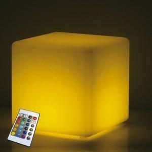 cube lumineux achat vente cube lumineux pas cher les soldes sur cdiscount cdiscount. Black Bedroom Furniture Sets. Home Design Ideas