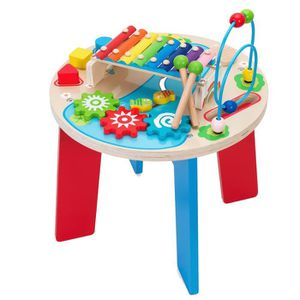 TABLE JOUET D'ACTIVITÉ Table En Bois Multiactivités