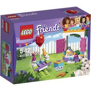 ASSEMBLAGE CONSTRUCTION LEGO® Friends 41113 L'Anniversaire des Lapins