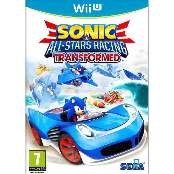 JEUX WII Sonic All Stars Racing Transformed Jeu Wii U
