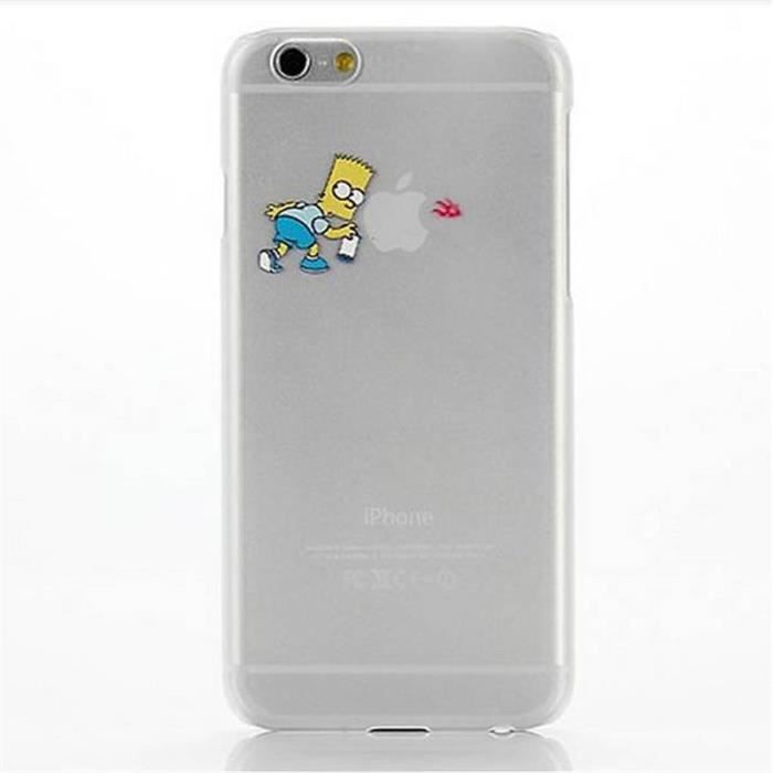 Coque iphone 6 bart achat vente coque iphone 6 bart for Coque cdiscount