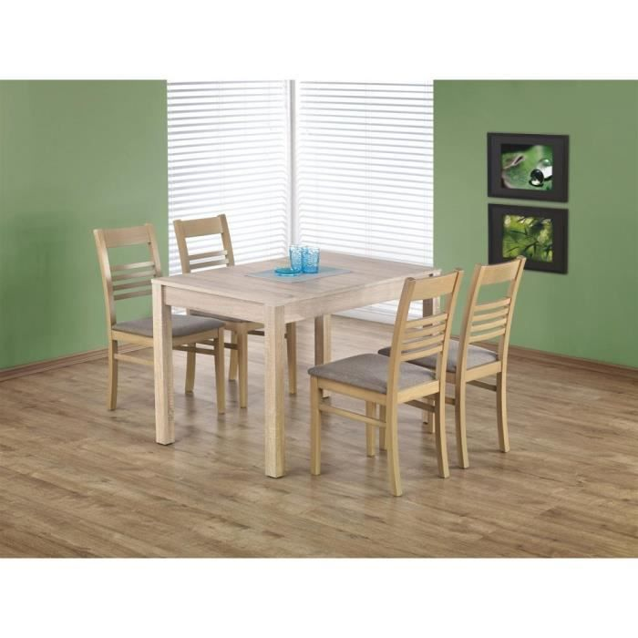 Justhome table de salle manger extensible maurycy en for Table salle manger extensible 300 cm