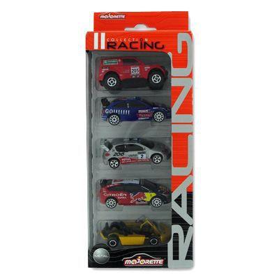 voitures collection racing lot de 5 coffret 1 achat vente voiture camion cdiscount. Black Bedroom Furniture Sets. Home Design Ideas