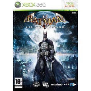 BATMAN ARKHAM ASYLUM CLASSICS / Jeu XBOX 360