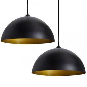 plafonnier noir achat vente plafonnier noir pas cher. Black Bedroom Furniture Sets. Home Design Ideas