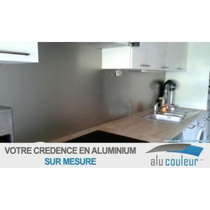 Credence cuisine 60x60 achat vente credence cuisine for Credence alu pas cher