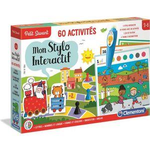 TABLE JOUET D'ACTIVITÉ CLEMENTONI Stylo parlant 60 activités