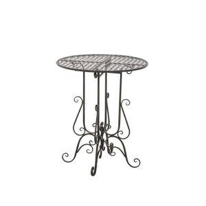 table ronde fer forge achat vente table ronde fer. Black Bedroom Furniture Sets. Home Design Ideas