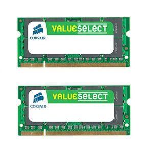 MÉMOIRE RAM Memoire portable 2x 4 Go DDR2-800 PC2-6400