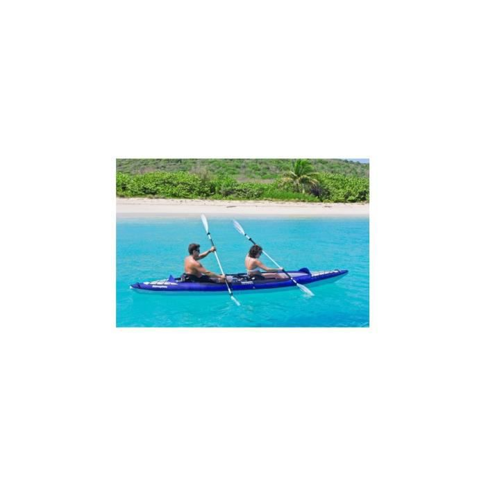 Kayak gonflable columbia 2 places aquaglide 4 prix pas cher cdiscount - Canoe gonflable 2 places ...