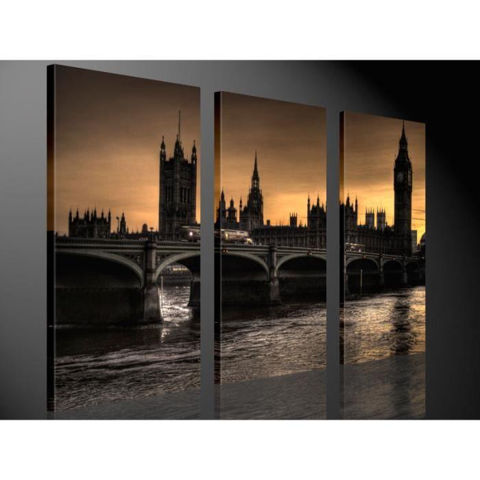Tableau moderne imprim 130x80 londres achat vente tableau toile cd - Vente tableau moderne ...