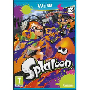 Pack Premium Wii U + Mario Kart 8 Préinstallé + Splatoon (en code de téléchargement)