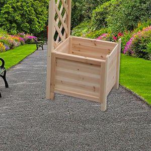 arche pour jardin en bois achat vente arche pour jardin en bois pas cher cdiscount. Black Bedroom Furniture Sets. Home Design Ideas