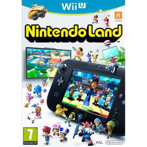 JEUX WII U Nintendo Land (12 jeux inclus) Jeu Wii U