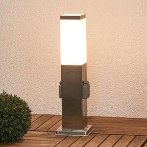 lampe exterieur avec prise achat vente lampe exterieur avec prise pas cher cdiscount. Black Bedroom Furniture Sets. Home Design Ideas