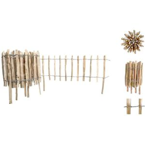 barriere en bois jardin achat vente barriere en bois jardin pas cher cdiscount. Black Bedroom Furniture Sets. Home Design Ideas