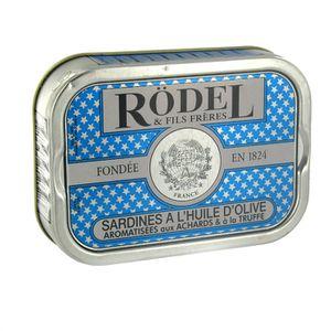 PRODUIT DE SARDINE Sardines Truffe achard 115g