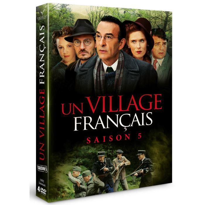 Dvd village francais un saison 5 coffret en dvd s rie pas cher soldes d hiver d s - Acteur un village francais ...