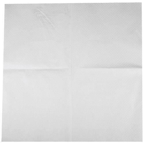 nappe carr e en papier blanche 60x60 cm achat vente nappe de table cdiscount. Black Bedroom Furniture Sets. Home Design Ideas