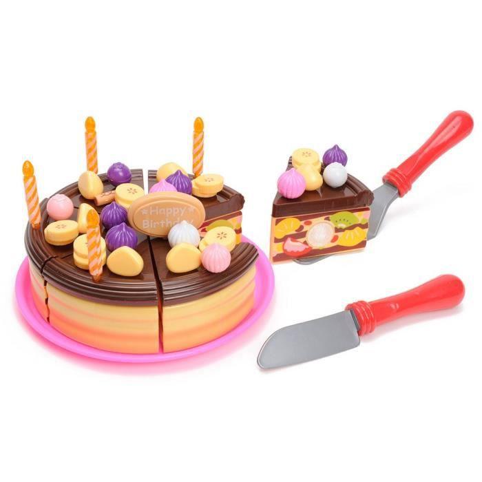G teau d 39 anniversaire d couper jouet d nette achat - Jeux de cuisine de gateaux d anniversaire ...