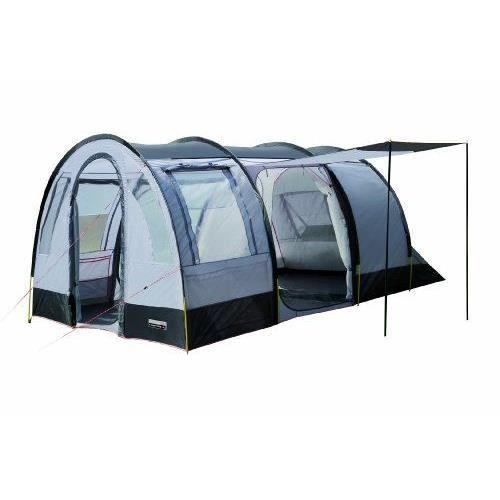 high peak tente tunnel 39 amalfi 5 39 gris argent achat. Black Bedroom Furniture Sets. Home Design Ideas