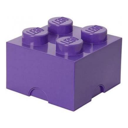 Lego boite de rangement 4 plots violet brique achat vente pi ce mond - Brique rangement lego ...