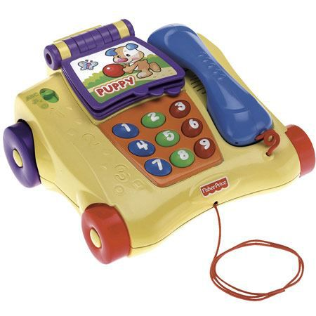 TELEPHONE JOUET FISHER-PRICE Téléphone J'Apprends À Compter