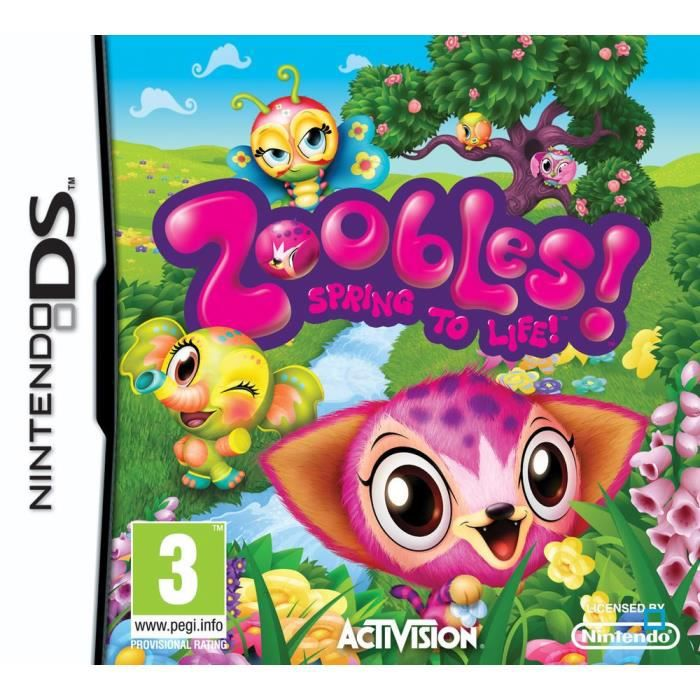 JEUX DS ZOOBLES / Jeu console DS