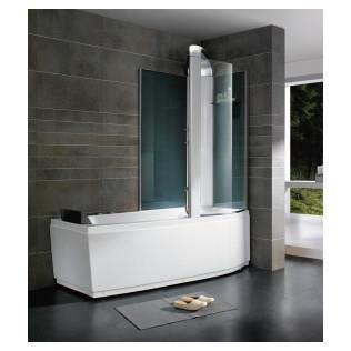 Baignoire douche baln o 170 cm droit achat vente cabine de douche b - Baignoire balneo discount ...