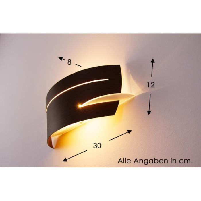 Applique murale spot lampe de corridor m tal verre achat for Applique murale 2 spots