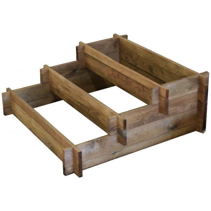 potager escalier achat vente carr potager table potager escalier les soldes sur. Black Bedroom Furniture Sets. Home Design Ideas