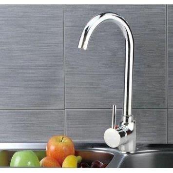 Mitigeur robinet poigne chrome unique salle de bai achat for Cuisine prete a installer