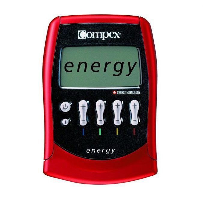 APPAREIL ÉLECTROSTIM COMPEX Electrostimulateur Energy